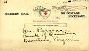 Lieutenant Ralph K. Lawson's Arrival Notification