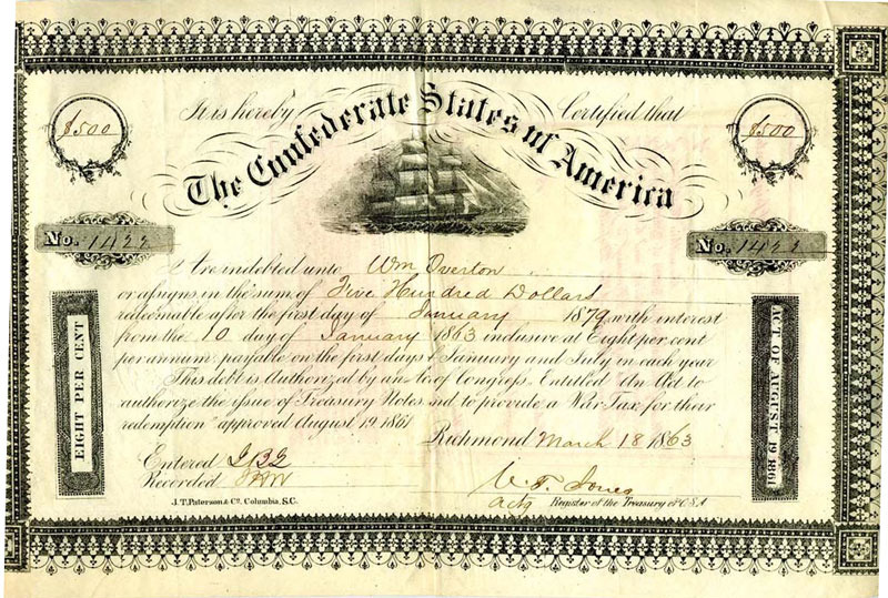 Confederate Bond