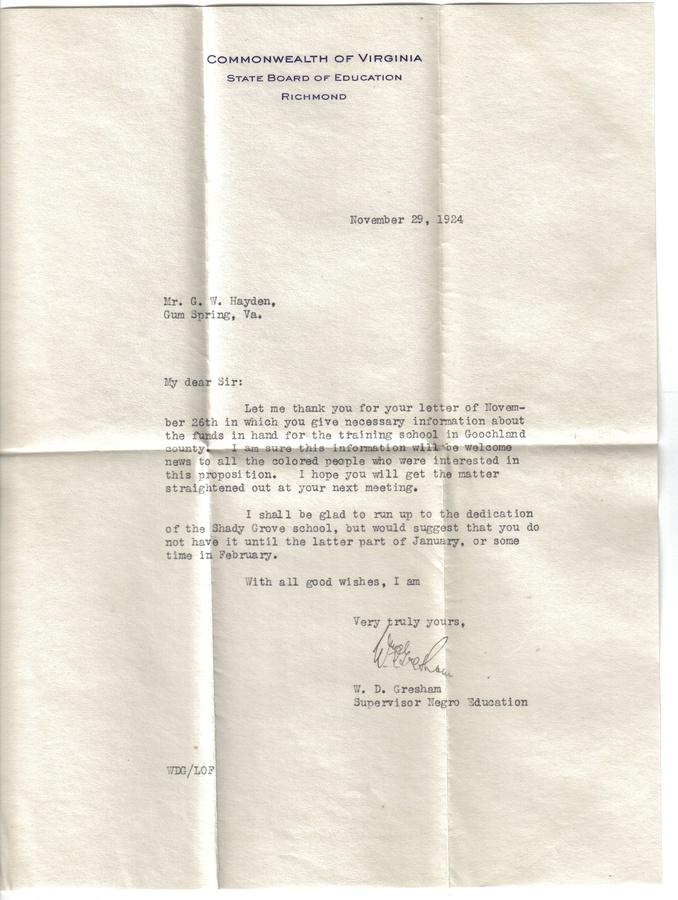 19241129  Letter - Info Funds for Training School - Dedicati.jpg