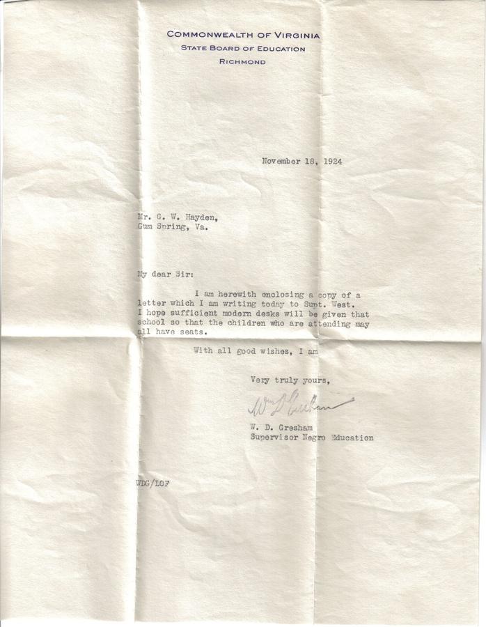 19241118 Letter - More Modern Desks Requested.jpg