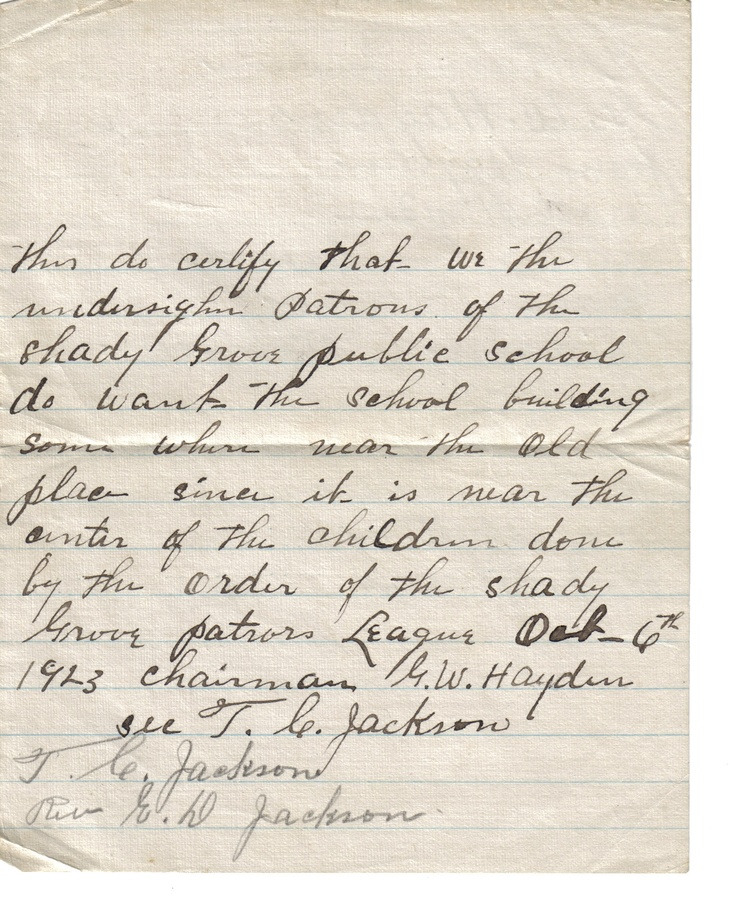 1923061923 Letter  Front - Request Concerning School Location.jpg