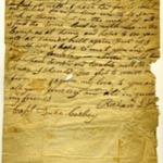 War of 1812 Letter