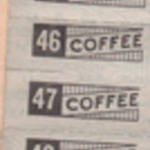 Coffee Ration Stamps