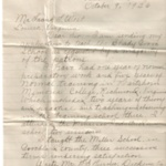 19261009 Letter - Letter Concerning Application.jpg