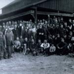 Miners at Arminius Mines